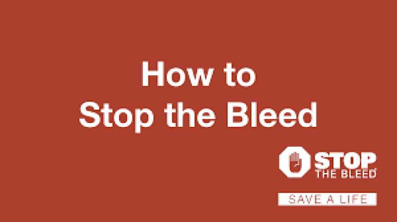 Stop the Bleed First Aid Training (Muncy Campus)